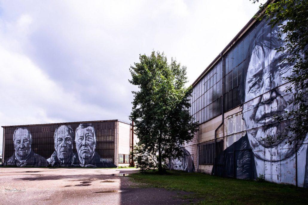 Murals by ecb